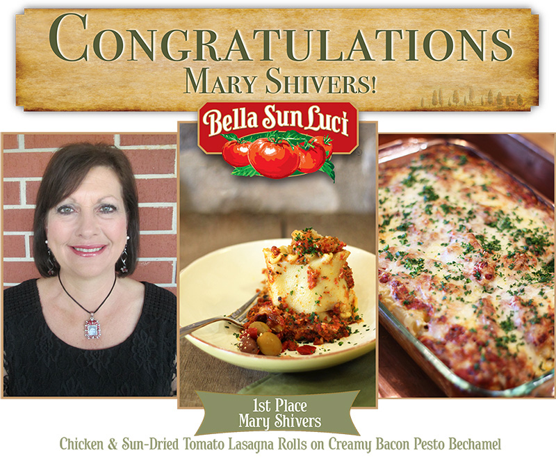 Congratulations to our 1st Place Winner of the 2015 Recipe Contest – Mary Shivers! featured image