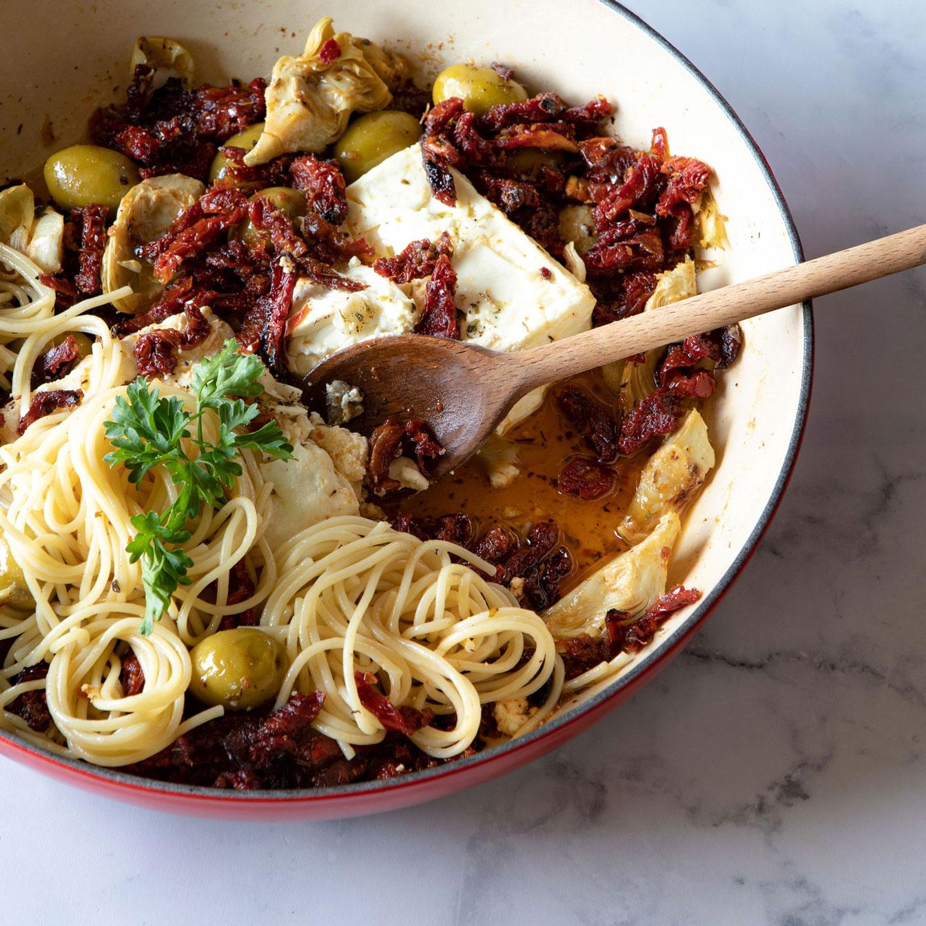 Baked Feta Pasta contest winner