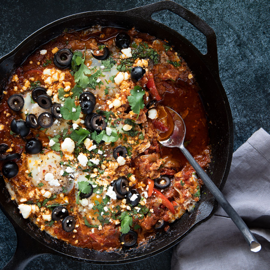 January 2021 Honorable Mention - Sun Dried Tomato Shakshuka featured image