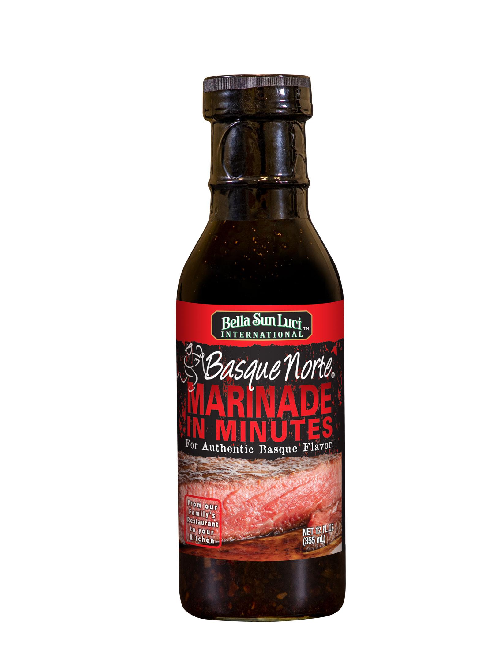 Basque Norte Meat Marinade 12 oz