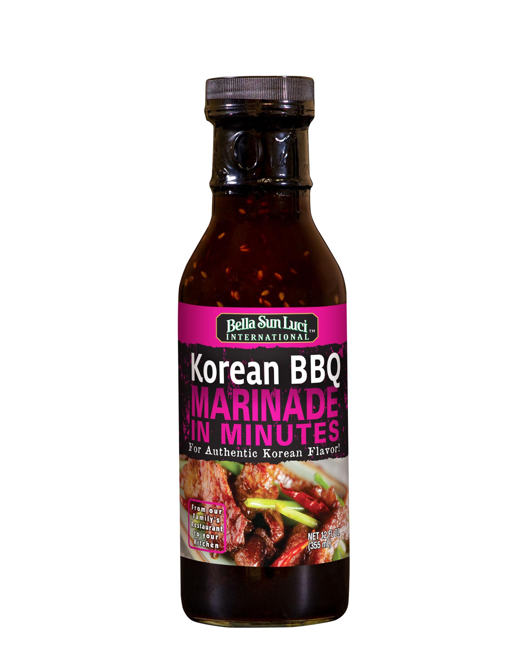 Korean BBQ Meat Marinade 12 oz