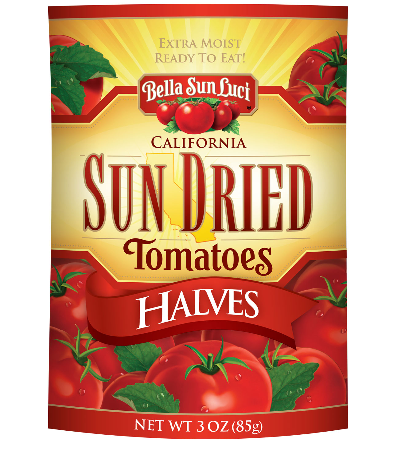 Sun Dried Tomatoes: Halves (Resealable Pouch)