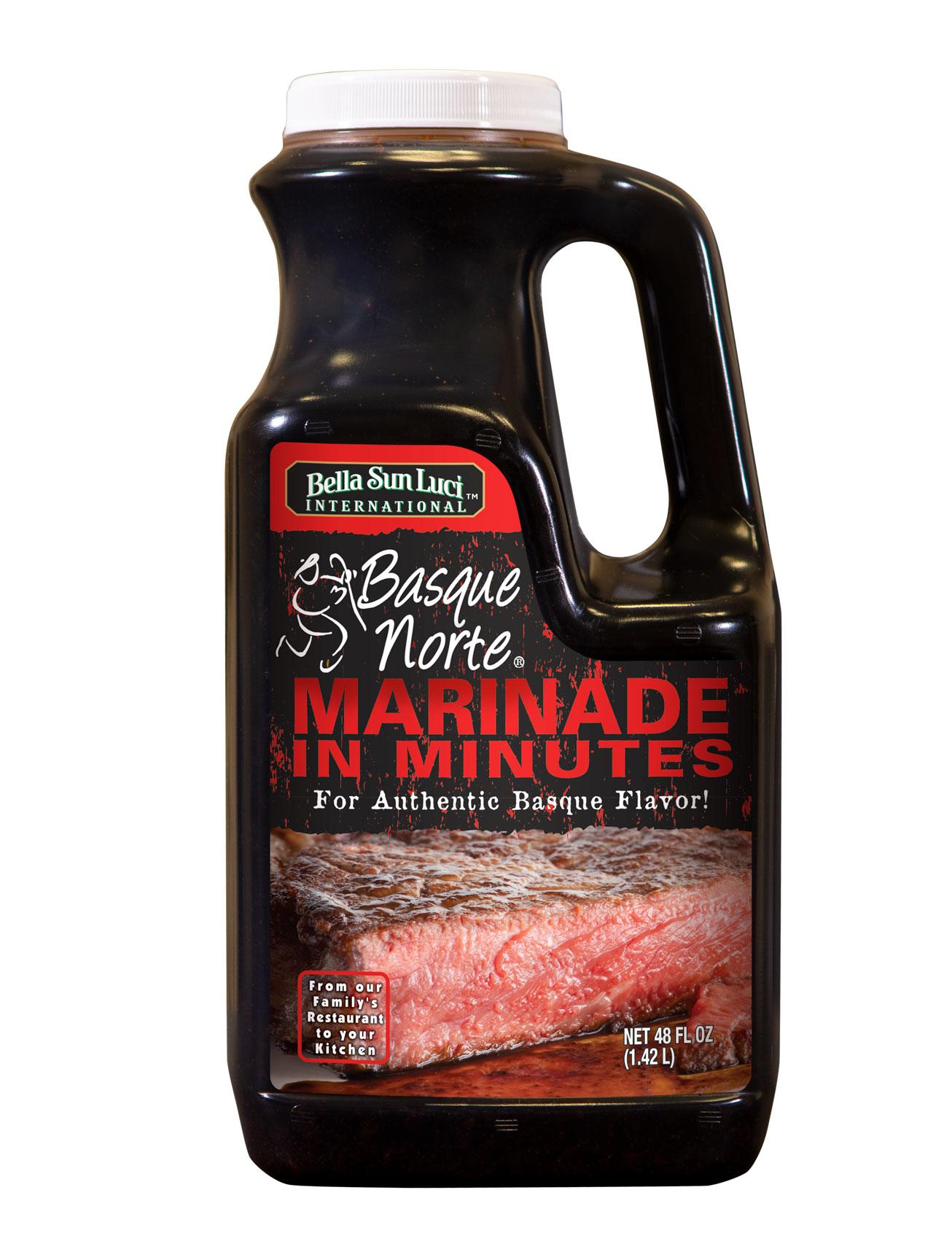 Basque Norte Label Meat Marinade Retail Pack 48 oz
