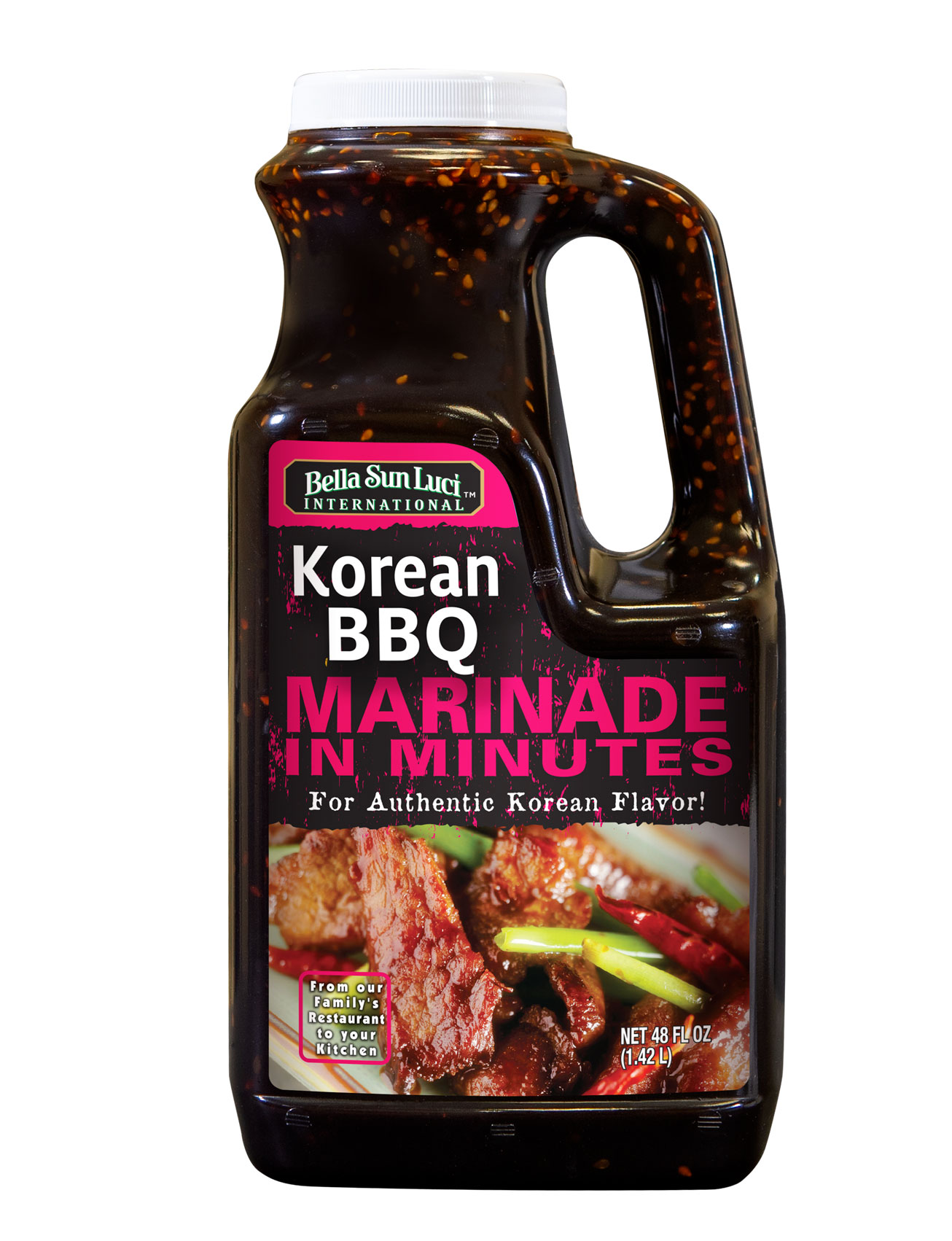 Korean BBQ Meat Marinade Retail Pack 48 oz