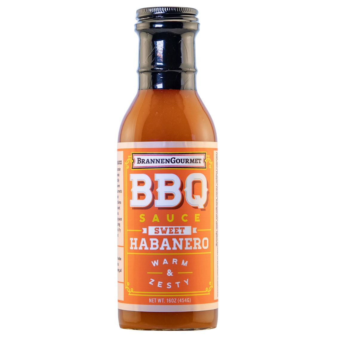 Brannen Gourmet BBQ Sauce Sweet Habanero