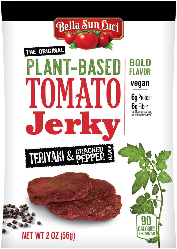 Cracked Pepper Teriyaki Tomato Jerky
