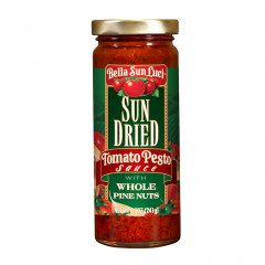 Sun Dried Tomato Pesto Sauce with Whole Pine Nuts 8.5 oz