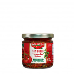 Sun Dried Tomato Halves with Extra Virgin Olive Oil with Italian Herbs 7 oz