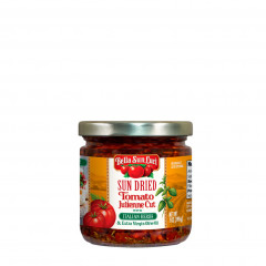 Julienne Cut Sun Dried Tomatoes in Olive Oil with Italian Herbs 7 oz