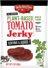 Cracked Pepper Teriyaki Tomato Jerky