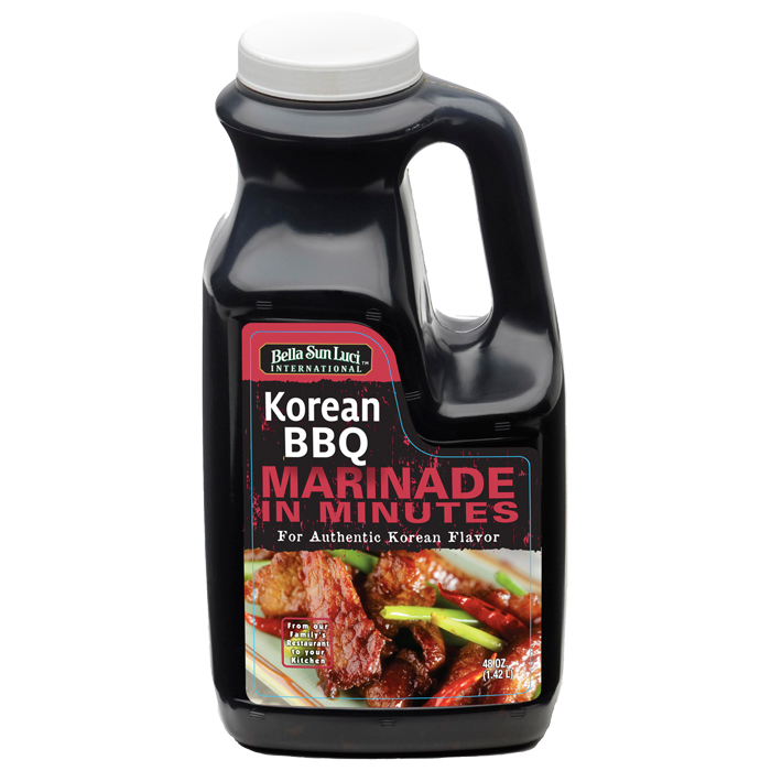 Korean BBQ Meat Marinade Retail Pack 48 oz product image