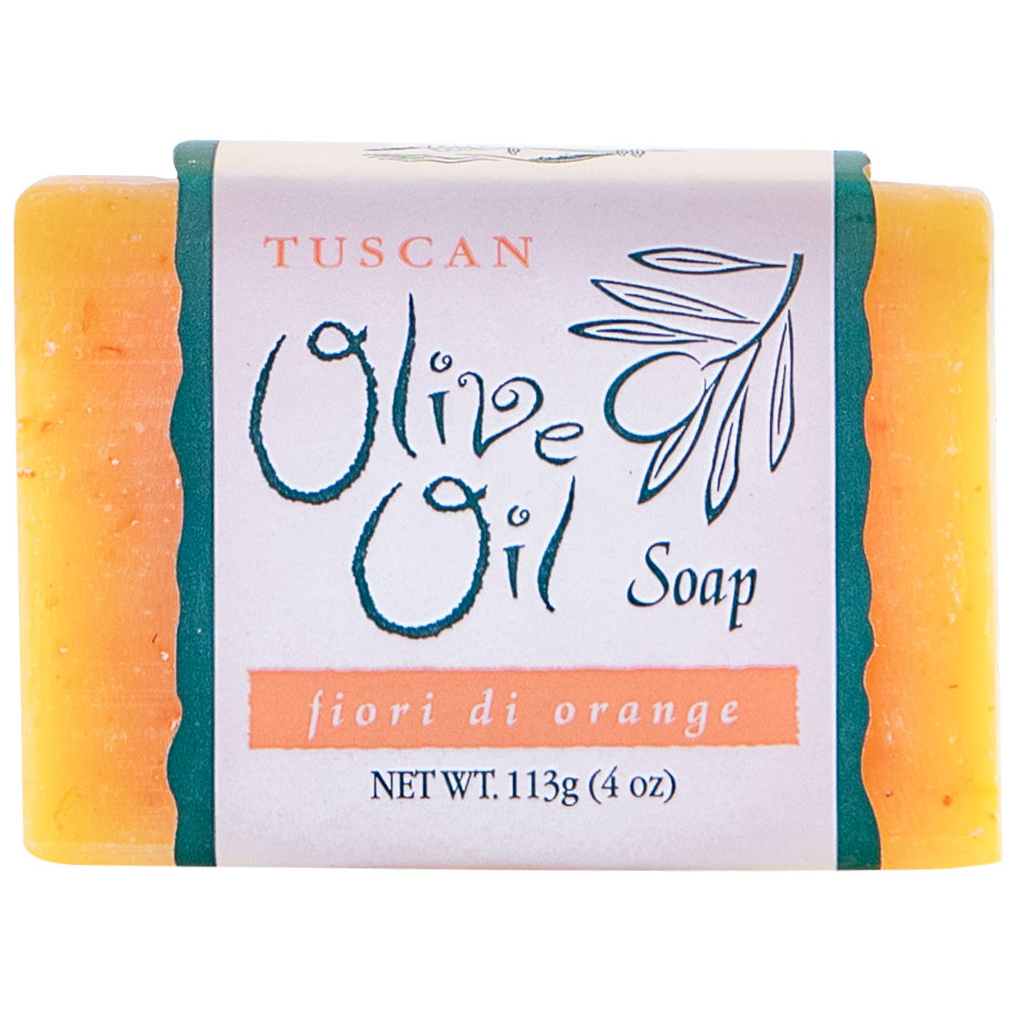 Tuscan Olive Oil Soap, Fiori di Orange product image