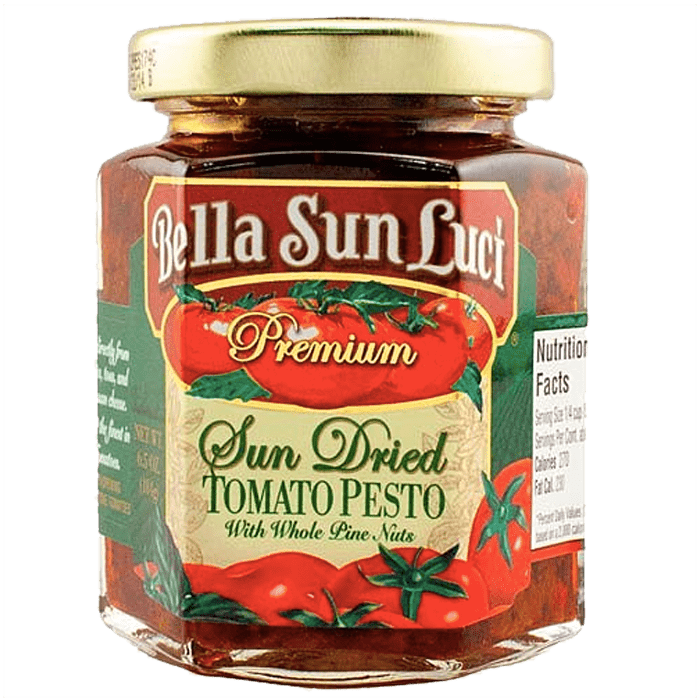 Sun Dried Tomato Pesto with Whole Pine Nuts 6.5 oz. product image