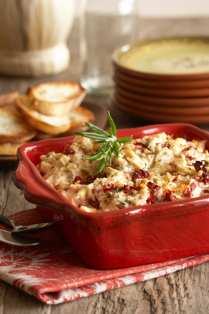 Sun Dried Tomato Artichoke Dip - 3rd Place Winning Recipe 2012!