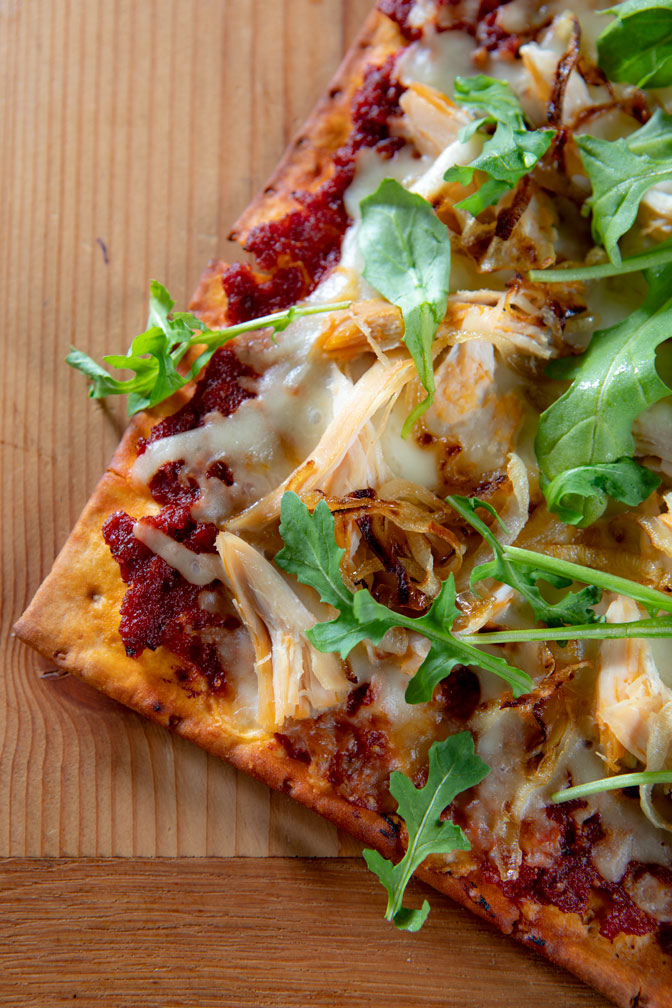 Sun Dried Tomato Chipotle Flatbread