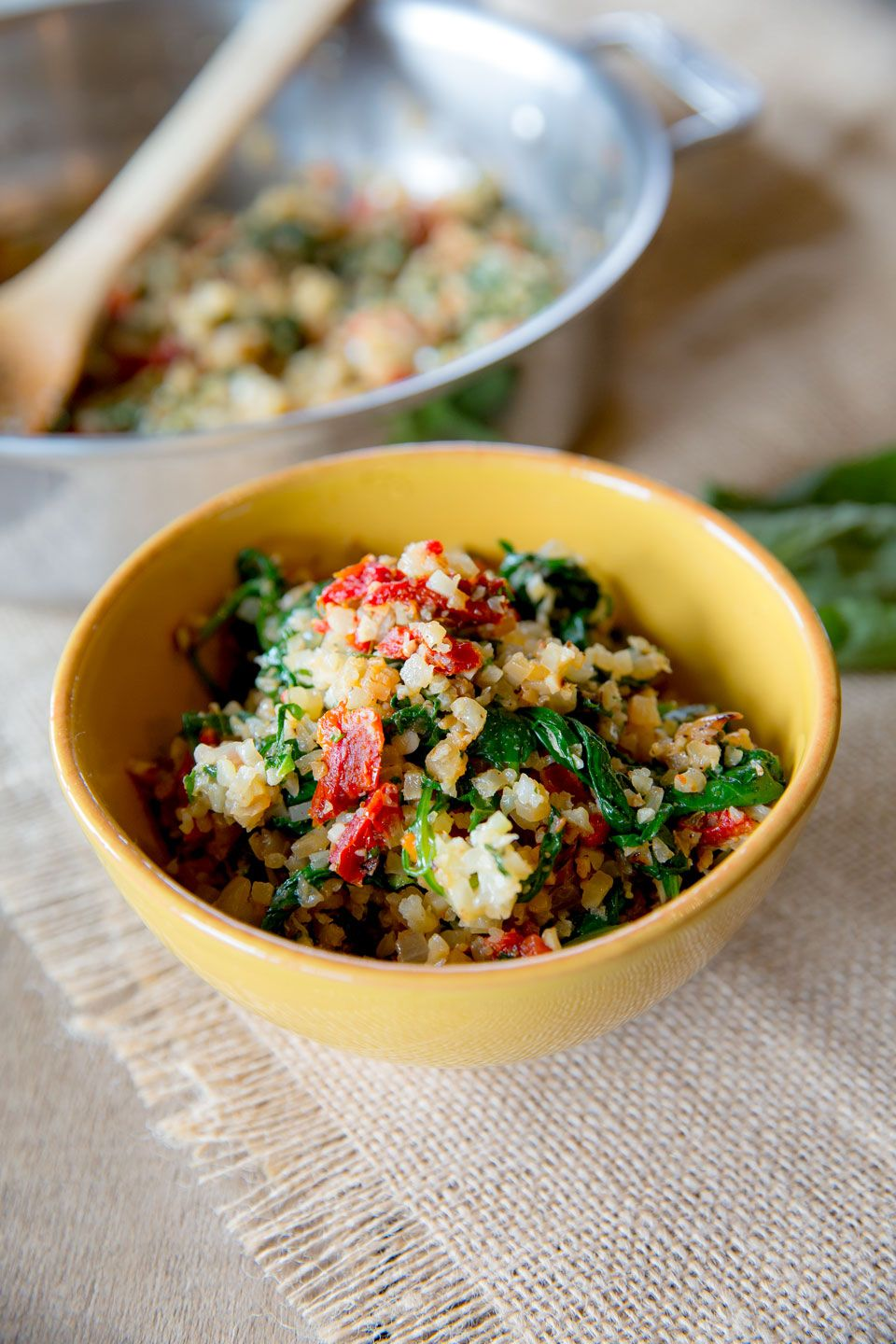 Italian Cauliflower Rice