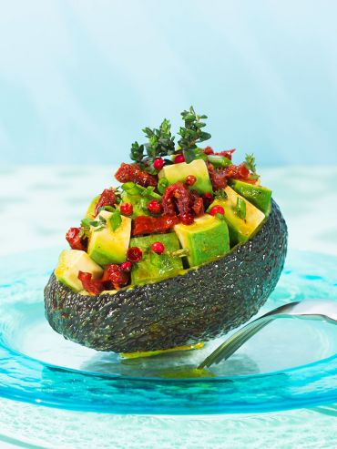 Gourmet Stuffed Avocado