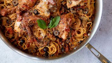 Tomato & Artichoke Chicken Pasta