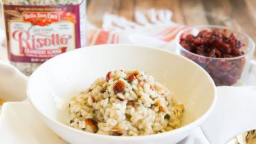 Bella Sun Luci Cranberry Almond Risotto