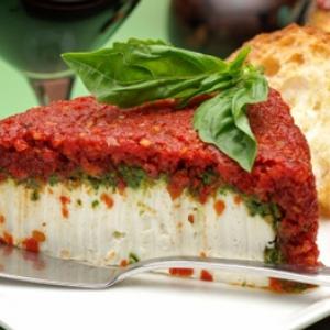Italian Torte with Goat Cheese