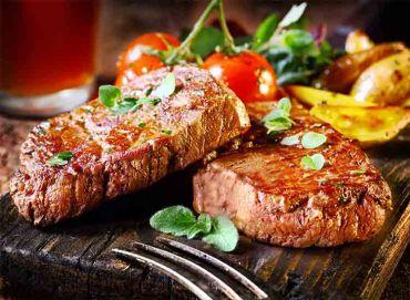 Basque Norte Steak with Roasted Yukon Gold Potatoes
