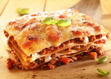 Lasagne alla Bolognese with Sun Dried Tomatoes