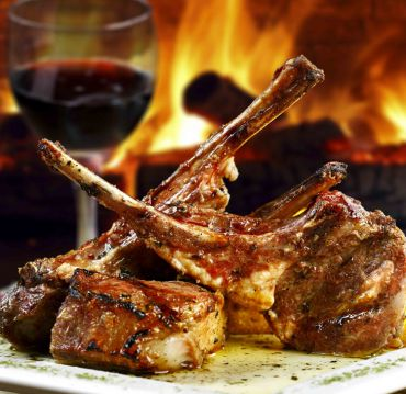 Sun Dried Tomato Marinated Rack of Lamb