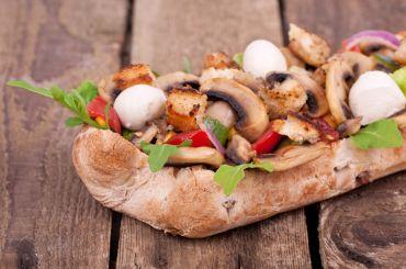Mushroom Ciabatta Panzanella