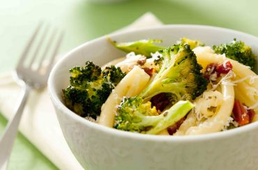 Roasted Broccoli Bucatini