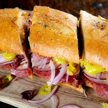 Ultimate Italian Sub Sandwich